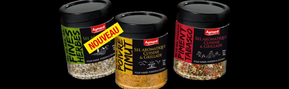 Donnez du goût à tous vos plats avec notre nouvelle gamme de sels aromatiques !