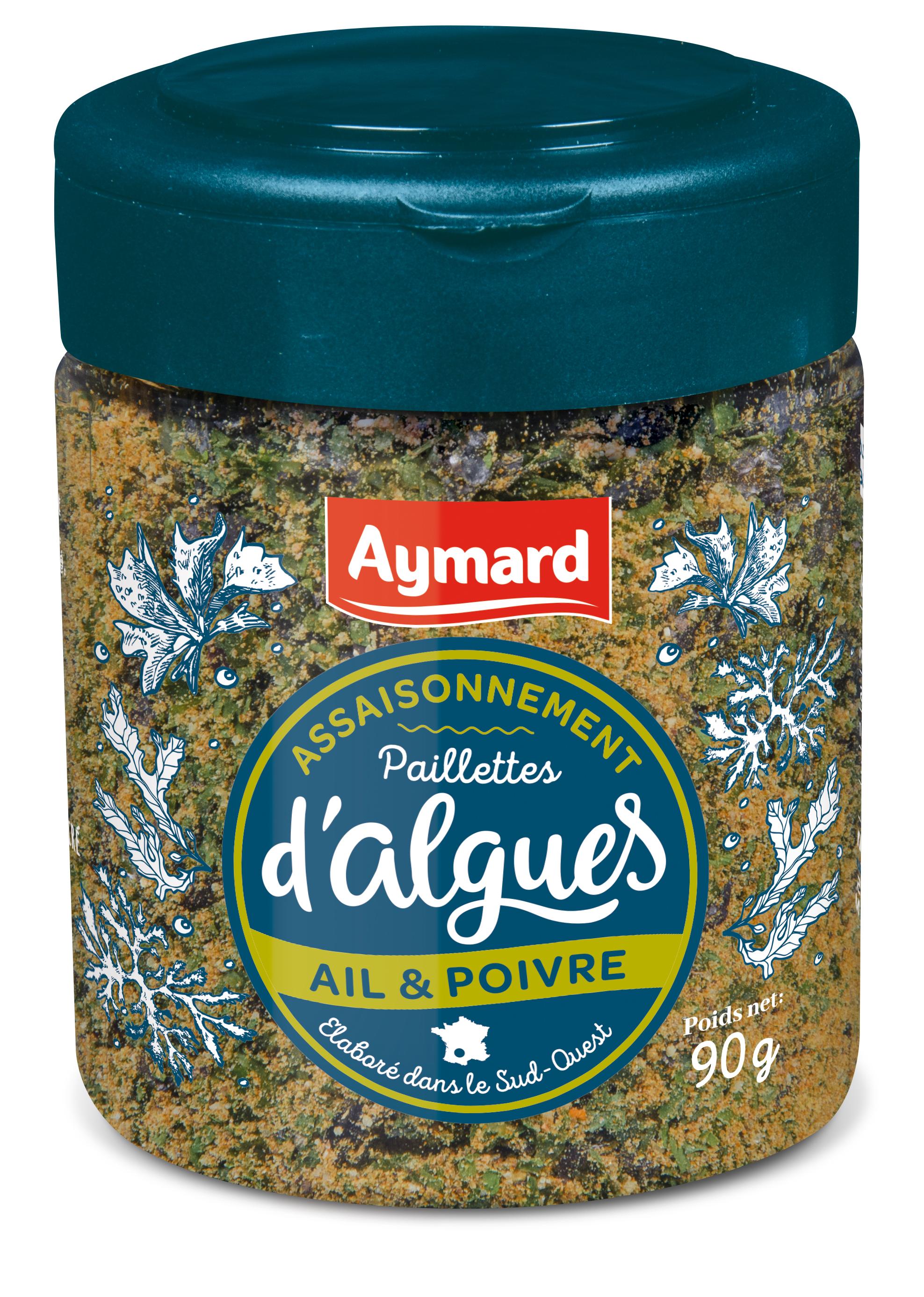 algues ail poivres
