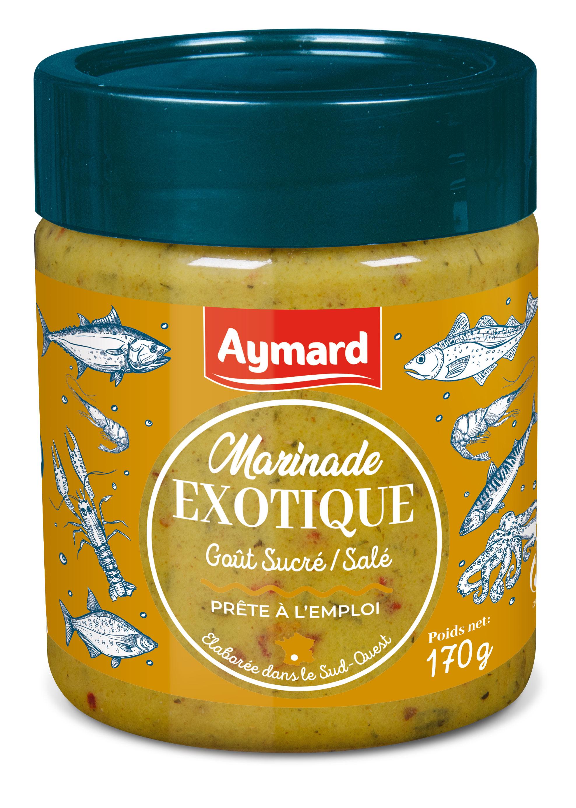 marinade pour poissons et crustacés